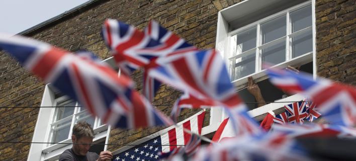Βρετανία σημαία/ Φωτογραφία AP images