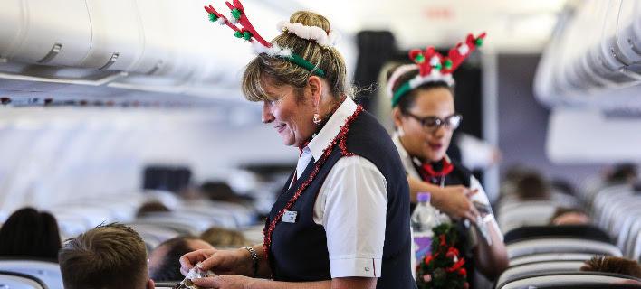 Η British Airways φοράει τα γιορτινά της εν ώρα πτήσης
