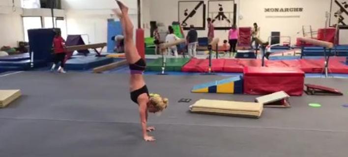 Η Μπρίτνεϊ Σπίαρς σε γυμναστικές επιδείξεις