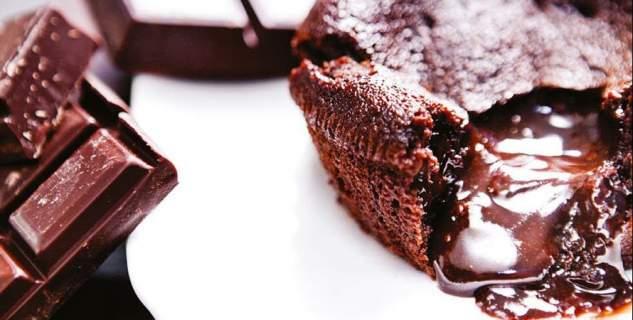 Brownie με σοκολάτα και κάστανο
