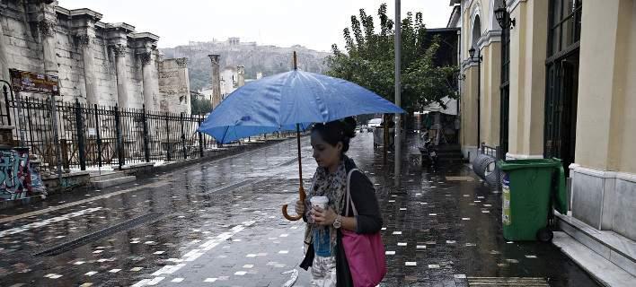 Βροχές και συννεφιά την Τετάρτη