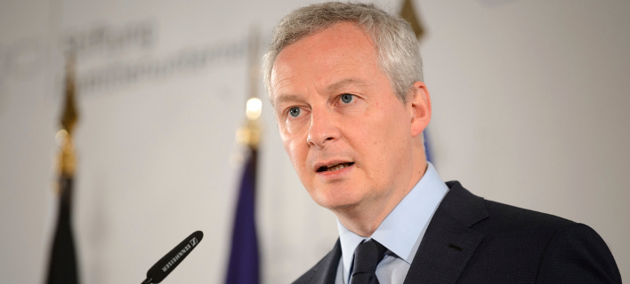 O Γάλλος υπουργός Μπρούνο Λεμέρ/ Φωτογραφία AP images