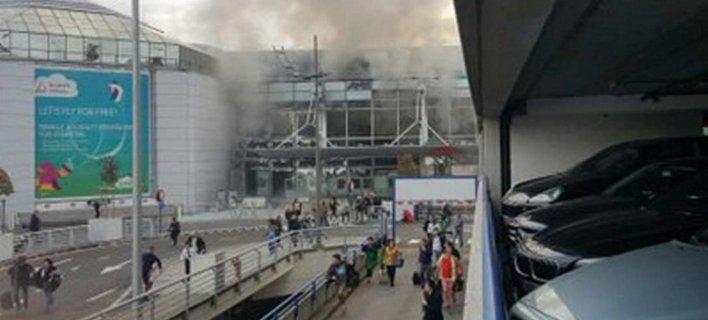 Η στιγμή που ο κόσμος τρέχει πανικόβλητος στις Βρυξέλλες - Δευτερόλεπτα μετά την έκρηξη [βίντεο]