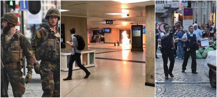 Βρυξέλλες: Εξουδετερώθηκε καμικάζι πριν ενεργοποιήσει τα εκρηκτικά [εικόνες & βίντεο]