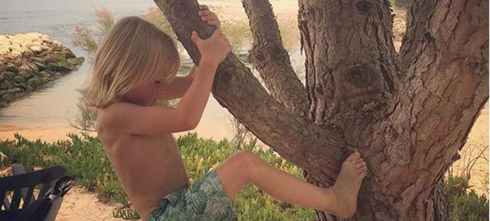 Ο 7χρονος γιος του Τζέιμι Όλιβερ, Μπάντι.