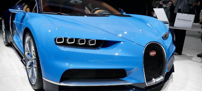 Ενα πιο οικονομικό μοντέλο από το Chiron (εικόνα) ετοιμάζει η Bugatti / Φωτογραφία: AP Images