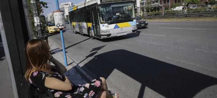 Λεωφορείο στην Αθήνα. Φωτογραφία: Eurokinissi/ΠΑΝΑΓΟΠΟΥΛΟΣ ΓΙΑΝΝΗΣ