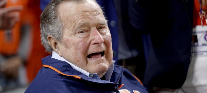 Ο πρώην πρόεδρος των ΗΠΑ Τζορτζ Μπους (Φωτογραφία: ΑΡ)