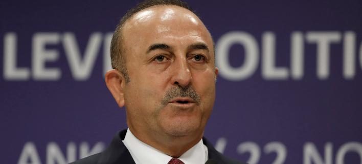 O υπουργός Εξωτερικών της Τουρκίας, Μεβλούτ Τσαβούσογλου (Φωτογραφία: ΑΡ/ /Burhan Ozbilici)