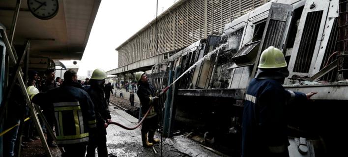 Αίγυπτος: Τουλάχιστον 25 νεκροί από την πυρκαγιά σε σιδηροδρομικό σταθμό στο Κάιρο