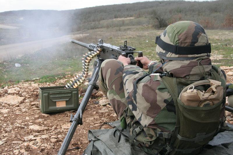 Με μια βολή από ένα τέτοιο 50άρι Browning σκότωσε ο Βρετανός λοχίας τον τζιχαντιστή (Φωτογραφία αρχείου: Wikipedia)