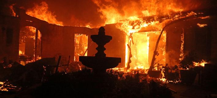 Πυρκαγιές έχουν κατακάψει την Καλιφόρνια. Φωτογραφία: AP