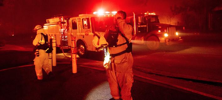 Φωτιά στην Καλιφόρνια/ Φωτογραφία: AP