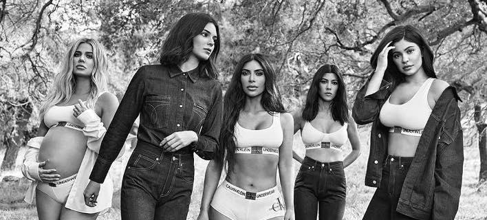Οι αδερφές Καρντάσιαν-Τζένερ /Φωτογραφία: Instagram/calvinklein