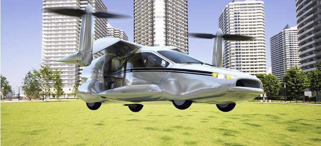 Το πρώτο ιπτάμενο υβριδικό αυτοκίνητο παρουσίασε αμερικανική εταιρία [εικόνες]