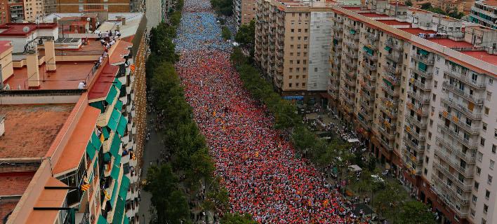 Η αβεβαιότητα φοβίζει τις επιχειρήσεις με έδρα στην Καταλονία/Φωτογραφία:ΑΡ