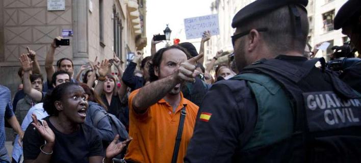 Εκρηκτική η κατάσταση στην Καταλονία / Φωτογραφίες: ΑΡimages