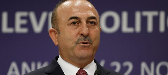 Ο υπουργός Εξωτερικών της Τουρκίας, Μεβλούτ Τσαβούσογλου (Φωτογραφία: ΑΡ/Burhan Ozbilici)