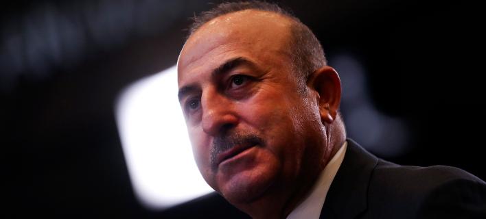 O επικεφαλής της τουρκικής διπλωματίας, Μεβλιούτ Τσαβούσογλου (Φωτογραφία: ΑΡ/Francisco Seco)