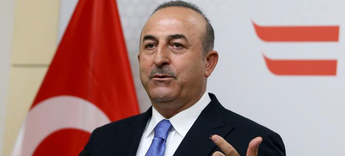 Ο υπουργός Εξωτερικών της Τουρκίας, Μεβλιούτ Τσαβούσογλου (Φωτογραφία: ΑΡ)