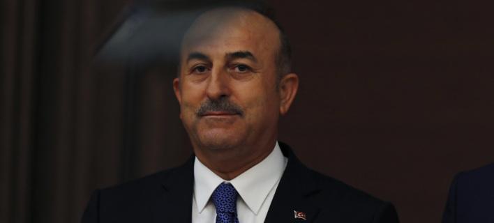 Ο Τούρκος ΥΠΕΞ, Μεβλούτ Τσαβούσογλου (Φωτογραφία: AP/ Burhan Ozbilici)