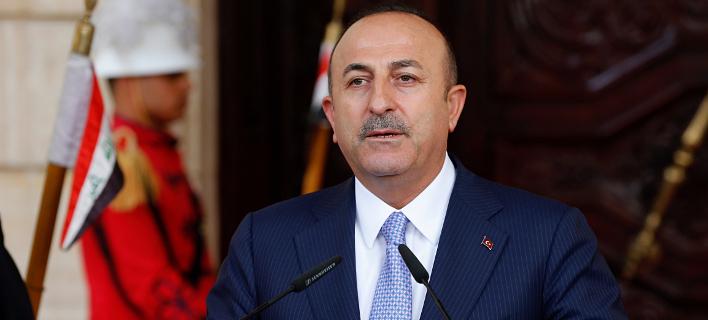 Ο υπουργός Εξωτερικών της Τουρκίας, Μεβλούτ Τσαβούσογλου/ Φωτογραφία: AP- Karim Kadim