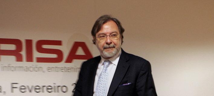 Ο ιδρυτής της El Pais, Χουάν Λουίς Θεμπριάν -Φωτογραφία: AP