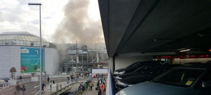 Εκτακτη είδηση: Δύο εκρήξεις στο αεροδρόμιο των Βρυξελλών με νεκρούς & τραυματίες [εικόνες & βίντεο]