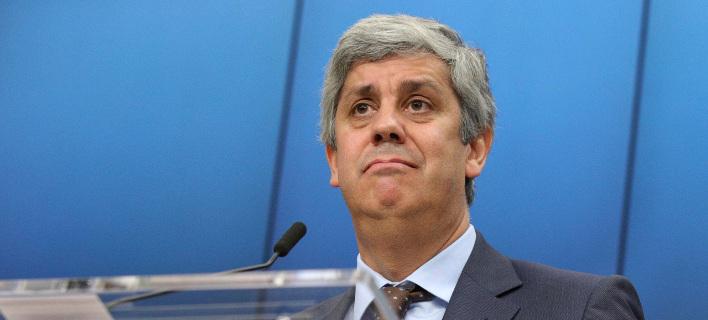 O επικεφαλής του Eurogroup Πορτογάλος υπουργός Οικονομικών, Μάριο Σεντένο/Φωτογραφία:ΑΡ