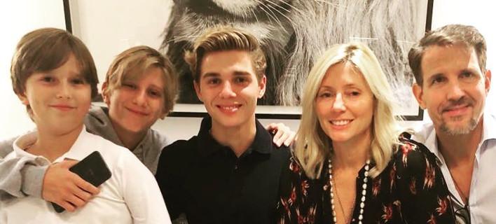 Η οικογένεια της Μαρί Σαντάλ και του Παύλου, Φωτογραφία: mariechantal22/instagram