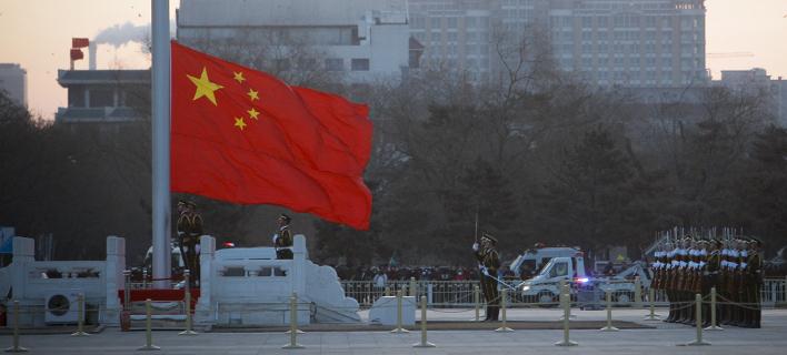 Κίνα σημαία/ Φωτογραφία AP images