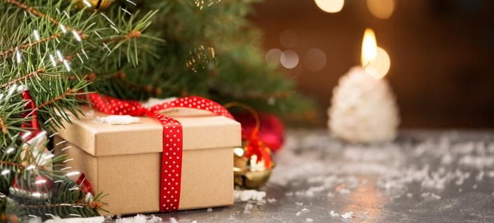 Ήρθε η ώρα για τα Χριστουγεννιάτικα δώρα. Φωτογραφία: Shutterstock