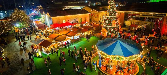 4 χριστουγεννιάτικα πάρκα για να μπείτε στο κλίμα των ημερών