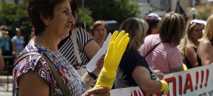 Αποτέλεσμα εικόνων για σχολικών καθαριστριών για ένα ακόμη διδακτικό έτος