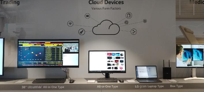 Η νέα σειρά cloud προϊόντων της LG εξασφαλίζει υψηλή απόδοση και εξοικονόμηση χώρου σε οποιοδήποτε εργασιακό περιβάλλον