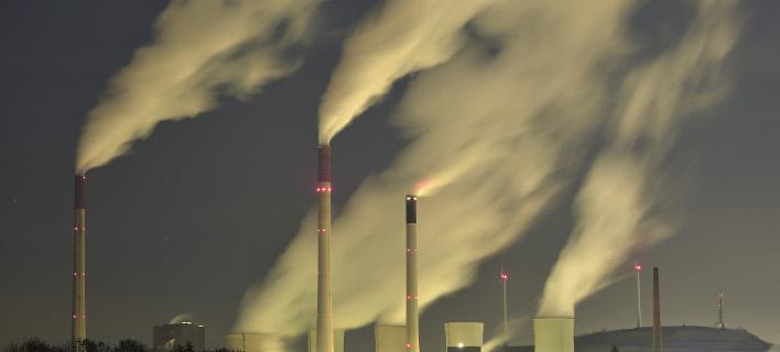Μειώθηκαν οι εκπομπές διοξειδίου του άνθρακα στην Ελλάδα (Φωτογραφία: AP/ Martin Meissner)