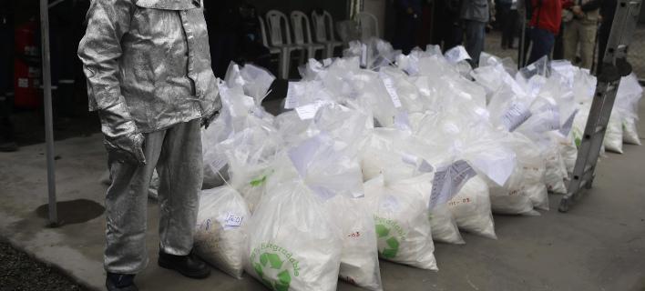 Σημαντική αύξηση στη διακίνηση κοκαΐνης στην Ευρώπη/ Φωτογραφία αρχείου: AP- Martin Mejia