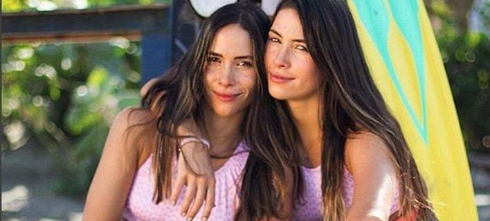 Οι αδερφές Αλεξάνδρα και Αντρέα Σαλαμάνκα. Φωτογραφία: Instagram