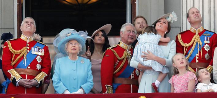 Η βασιλική οικογένεια /Φωτογραφία: AP/Frank Augstein
