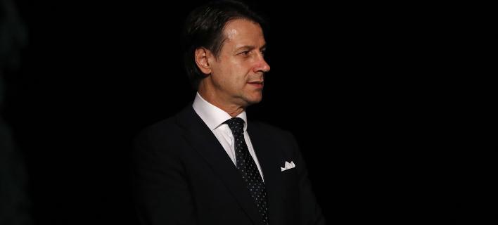 Ο Τζουζέπε Κόντε/ Φωτογραφία: AP- Antonio Calanni