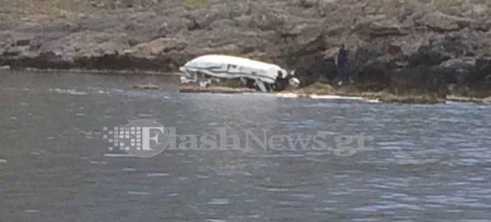 To δυστύχημα/ Φωτογραφία: flashnews.gr
