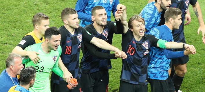 «Ολε, όλε» για την Κροατία/Φωτογραφία: ΕΡΑ