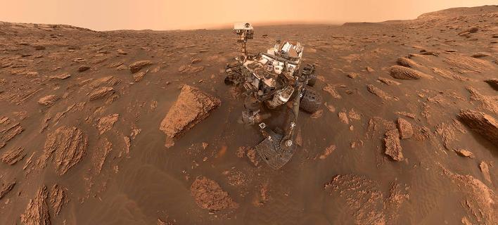 Το ρόβερ Curiosity στον Αρη/Φωτογραφία: NASA