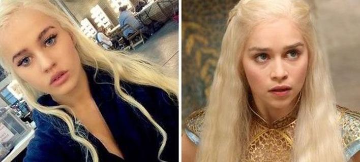 Αυτή είναι η καλλονή που ντουμπλάρει την μητέρα των δράκων στο Game of Thrones [εικόνες]