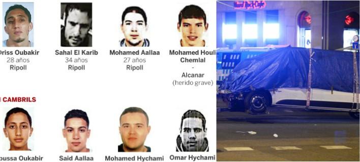 Οι δράστες που σκόρπισαν τον θάνατο/Φωτογραφία: AP-Εl Pais