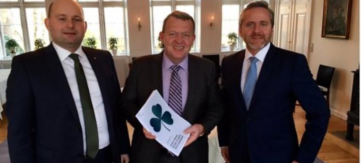 Συμφωνία για τον σχηματισμό νέας κυβέρνησης στη Δανία