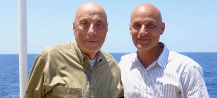 Τζέι και Ντάνιελ Μέντελσον σε κρουαζιέρα στα βήματα του Οδυσσέα.