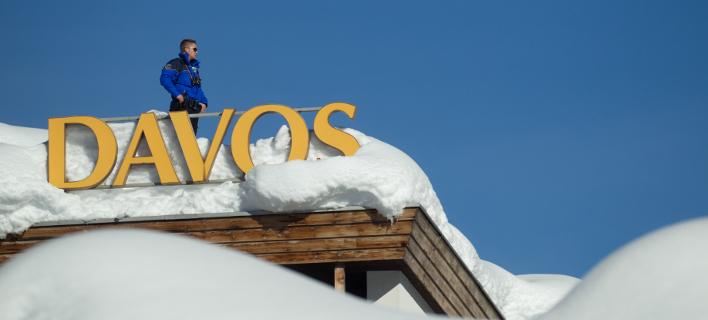 Λαγκάρντ για χρέος, Μοσκοβισί, Ράμα και Γιοχάνες Χαν βλέπει σήμερα ο Τσίπρας στο Νταβός /Φωτογραφία: Intime News
