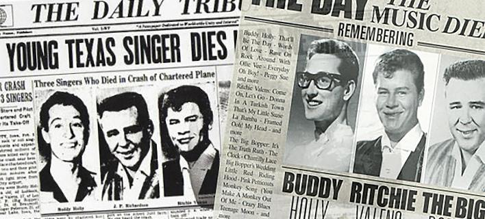 3 Φεβρουαρίου, η ημέρα που πέθανε η μουσική -«Χάθηκαν» τρία αστέρια του Rock 'n' Roll [εικόνες & βίντεο]