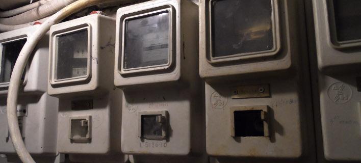 Οι μετρητές κατανάλωσης ρεύματος που θα αντικατασταθούν/ Φωτογραφία: Eurokinissi